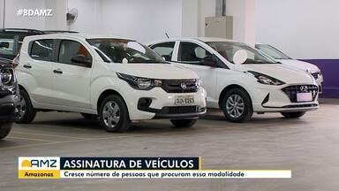 Serviços de carro por assinatura prometem economia - No Amazonas, cresce número de adeptos desta modalidade.