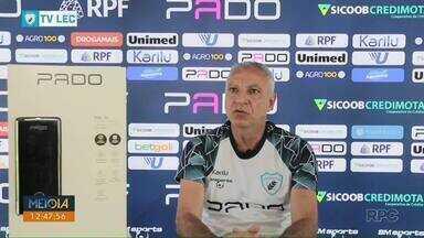 Márcio Fernandes inicia trabalho como técnico do Londrina - Estreia será no sábado, contra o Goiás, fora de casa, pela 12ª rodada.