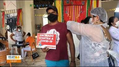 Acompanhe como está a vacinação contra a Covid-19 em Sergipe - Acompanhe como está a vacinação contra a Covid-19 em Sergipe.