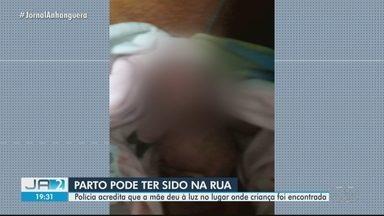 Polícia acredita que a mãe deu à luz no lugar onde criança foi encontrada em Goiânia - Corporação procura pela mulher.