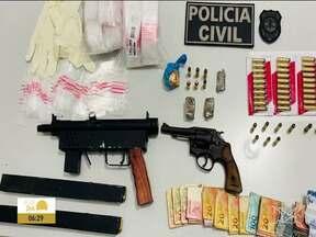 Polícia Civil prende 17 pessoas no Maranhão - Polícia Civil desmontou um grupo criminoso que comandava o tráfico de drogas de dentro do presídio de Pedrinhas, em São Luís.