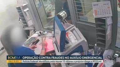 PF combate fraudes no auxílio emergencial em Londrina - Pelo menos 13 vítimas foram identificadas e prejuízo chega a R$15 mil