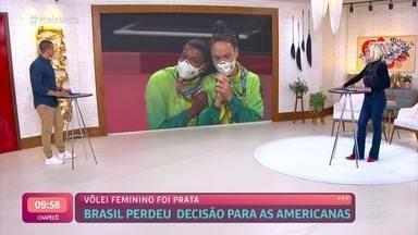 Brasil perde para Estados Unidos e Seleção Feminina de Vôlei leva a prata - Ana Maria Braga parabeniza atletas pela conquista