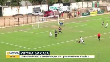 Democrata e Ipatinga vencem no Módulo 2 - Times do leste mineiro venceram por 2 x 1 contra o Guarani e o Serranense.