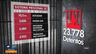 Sistema prisional de SC assina parceria com o Senai - Sistema prisional de SC assina parceria com o Senai