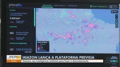 Imazon lança a plataforma Previsia com meta de frear desmatamento - Trabalho pioneiro foi desenvolvido por pesquisadores do Imazon, pela a Microsoft e pelo Fundo Vale.