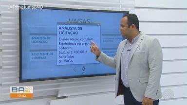 Blog do Emprego: Confira vagas para capital e cidades da Bahia - BMD listou algumas vagas; veja.