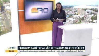 Veja a íntegra da estreia do Bom Dia Rondônia de segunda, 09 de agosto - Cássia Firmino apresenta a edição. Volta às aulas da rede estadual, trânsito e quado 'ajuda aí' são destaques.