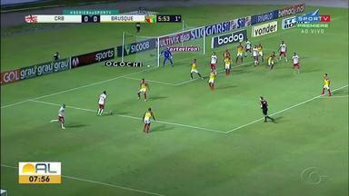 CRB vence o Brusque e garante vaga no G-4 da Série B - Vitória foi por 3 a 0.