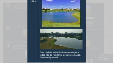 Participe do Bom Dia Rondônia com mensagens; (69) 99209-3750 - Confira as interações.