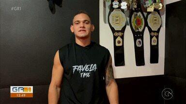 Victor Silva vai representar Petrolina no Natal Fight Championship, neste sábado (14) - Batizado no MMA como Victor Favela, o atleta chega ao campeonato com sangue no olho e muita sede de vitória.