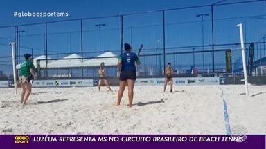 Luzelia Costa representa MS no Circuito Brasileo de Beach Tennis, na Bahia - Atleta vai competir nas categorias Feminino e Mistas.