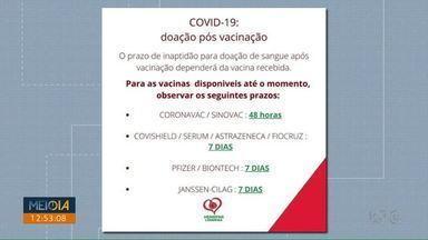 Hemocentro do HU pede doações de sangue - Estoque está baixo, principalmente do tipo O+ e O-.