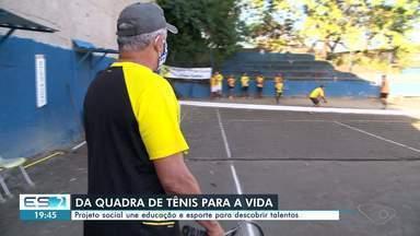 Projeto social une educação e esporte para descobrir talentos no ES - Assista.