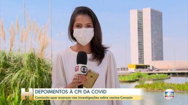 CPI da Covid ouve amanhã servidor do TCU que fez um relatório apontando suposta supernotificação de mortes no Brasil em 2020 - A cúpula da Comissão deve cancelar a acareação entre o ministro do trabalho, Onyx Lorenzoni e o deputado federal Luís Miranda. Ss dois têm versões diferentes sobre a negociação para compra da vacina Covaxin.