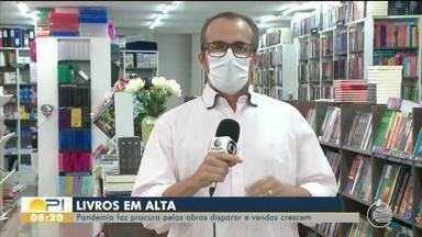Pandemia faz procura por livros disparar e vendas crescem no Piauí - Pandemia faz procura por livros disparar e vendas crescem no Piauí