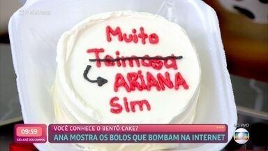 Você conhece o bentô cake? - Febre na Coreia do Sul, agora faz sucesso no Brasil