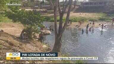 Pirenópolis tem movimentação cheia no feriado prolongado de 7 de setembro - Cidade ficou lotada.