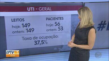 Veja os números do novo coronavírus em Ribeirão Preto nesta segunda-feira (13) - São 56 pacientes internados nos leitos de UTI.