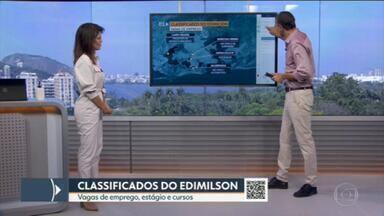 Classificados do Edimilson Ávila - Vagas de emprego, estágio e curso de qualificação disponíveis.