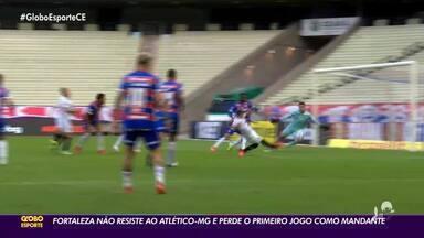 Fortaleza perde para Atlético-MG em casa - Saiba mais em ge.globo/ce