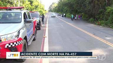 Jovem morre em acidente na rodovia Everaldo Martins, em Santarém; vítima tinha 20 anos - Acidente aconteceu na madrugada de domingo, 12.