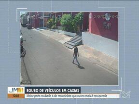 Roubos de veículos crescem em Caxias em 2021 - Maior parte roubada é de motocicleta que nunca mais é recuperada.