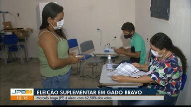 Município de Gado Bravo tem novo prefeito depois de eleição suplementar - O povo foi as urnas no nesse domingo (12)