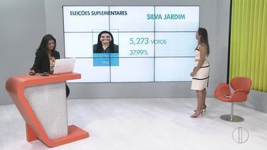 Maira de Jaime, do PROS, foi eleita com 37,99% dos votos em Silva Jardim - Eleição suplementar foi disputada neste domingo (12).