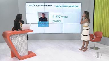 Nilson José, do DEM, é eleito com 50,82% dos votos válidos em Santa Maria Madalena - Eleição suplementar foi disputada nesse domingo (12).