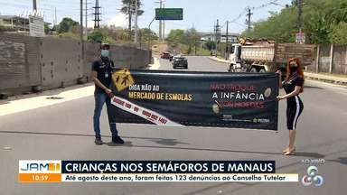 Sejusc realiza ação em Manaus após denúncia do Conselho Tutelar - Sejusc realiza ação em Manaus após denúncia do Conselho Tutelar.