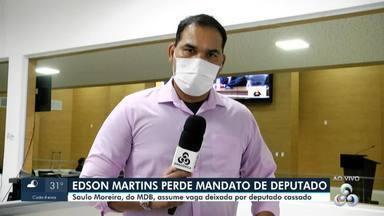 Mais uma substituição na Assembleia Legislativa de Rondônia - O deputado cassado Edson Martins perdeu o mandato oficialmente nesta segunda-feira, 13.