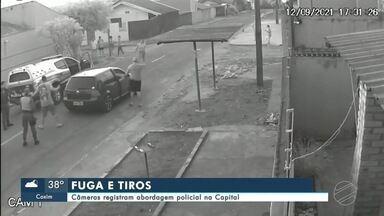 Câmeras registram abordagem policial de dois irmãos na Capital - MS2