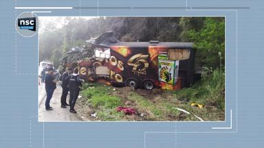 Cantor Airton Machado morre em acidente na BR-282; giro de notícias - Cantor Airton Machado morre em acidente na BR-282; giro de notícias