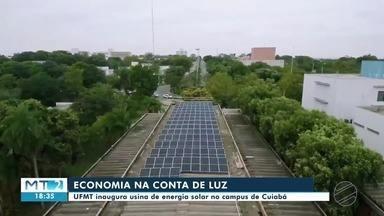 UFMT implanta usina de energia solar no campus de Cuiabá - UFMT implanta usina de energia solar no campus de Cuiabá.