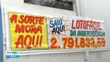 Aposta feita em Rondonópolis fatura R$ 2,7 milhões na loteria - Aposta feita em Rondonópolis fatura R$ 2,7 milhões na loteria.