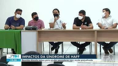 Em Santarém, reunião discute impactos da Síndrome de Haff em pescadores - Profissionais estão com a renda prejudicada.