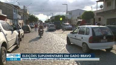 Marcelo Jorge (PP) é eleito prefeito de Gado Bravo com 62,58% dos votos - Eleições suplementares foram realizadas neste domingo.