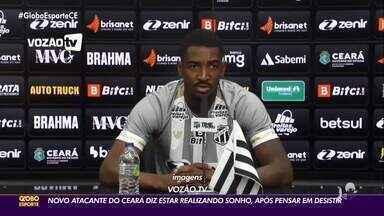 Confira mais da apresentação de Gabriel Santos no Ceará - Saiba mais em ge.globo/ce