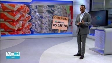 Procon faz pesquisa na Região Metropolitana sobre o preço da cesta básica o Recife sobre - Preço da cesta básica aumenta R$ 10,00 de julho pra agosto