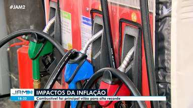 Combustível impulsiona alta da inflação no país - Combustível impulsiona alta da inflação no país
