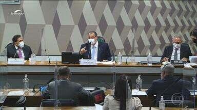 CPI da Covid ouve nesta quarta advogado apontado como lobista da Precisa Medicamentos - Justiça autorizou a condução coercitiva de Marconny Albernaz Ribeiro caso ele não compareça para prestar depoimento.