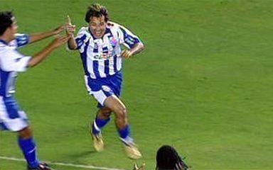 O gol de Santos 0 x 1 CSA pela 2ª fase da Copa do Brasil 2009