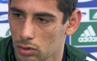 Relembre a declaração de Diego Souza quando jogava pelo Palmeiras, em 2009