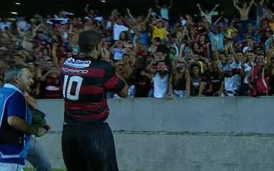 Os gols de Fluminense 3 x 5 Flamengo, pela 5ª rodada da Taça Guanabara 2010: Gum teve que marcar Adriano