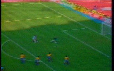Melhores momentos: Brasil 0 x 1 Argentina pela Copa do Mundo de 1990