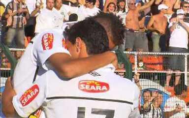 Segundo jogo: Santos 2 x 3 Santo André