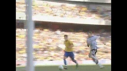 Em 2006, Brasil derrota Argentina por 3 a 0 em amistoso em Londres