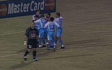 Iarley e Robgol marcam dois gols cada em goleada do Paysandu sobre o Cerro Porteño por 6 a 2, na Libertadores de 2003
