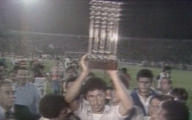 Em 1987, São Paulo vence o Guarani e conquista o Campeonato Brasileiro de 86
